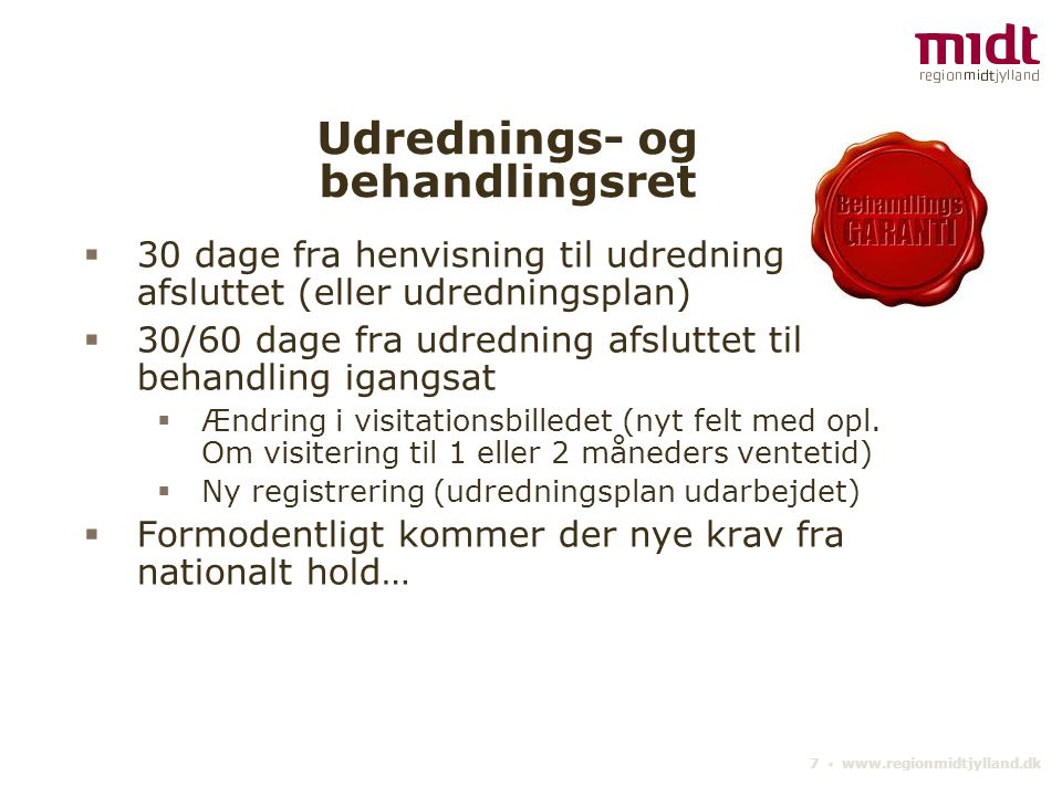 Udrednings- og behandlingsret