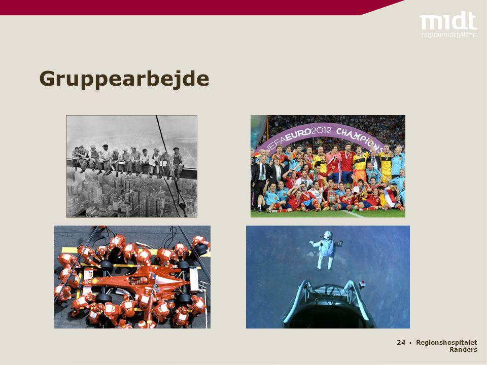 Gruppearbejde 24 ▪ Regionshospitalet Randers