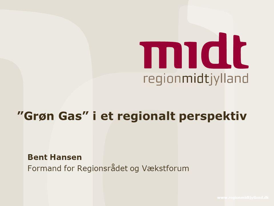 Grøn Gas i et regionalt perspektiv