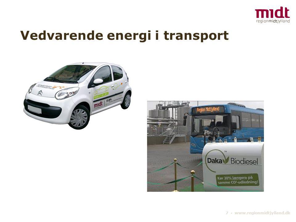Vedvarende energi i transport