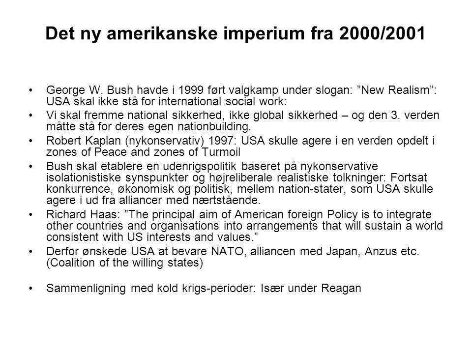 Det ny amerikanske imperium fra 2000/2001