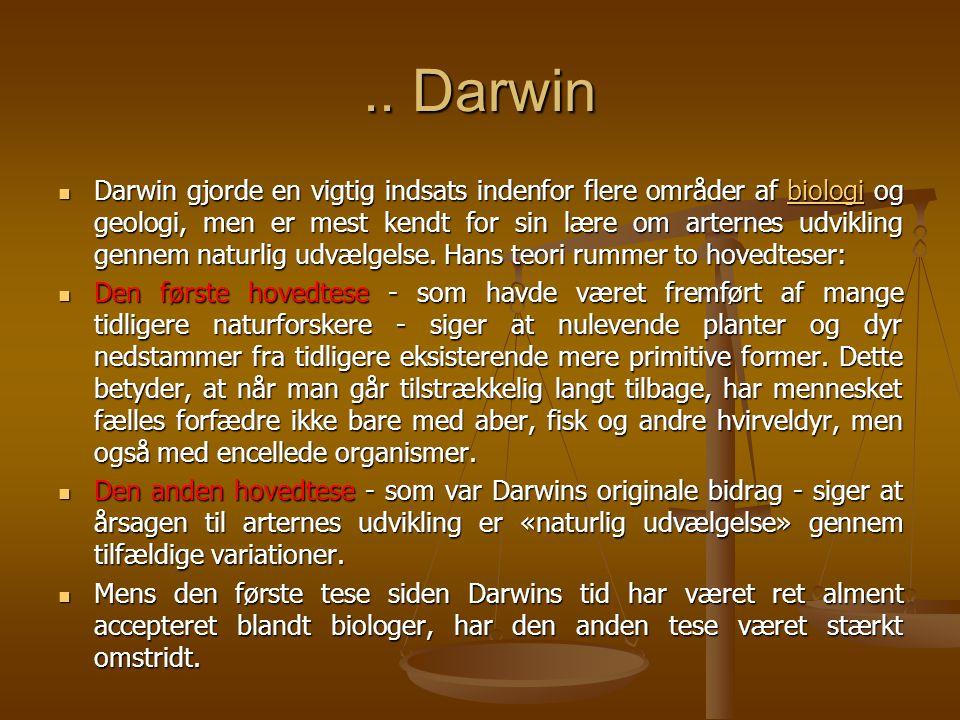 .. Darwin