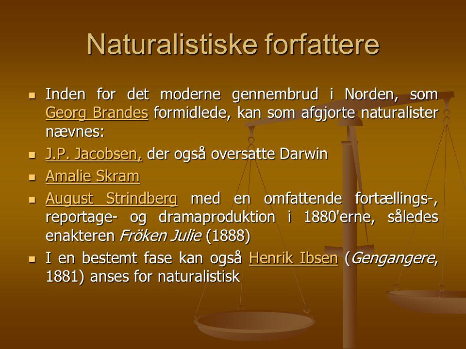 Naturalistiske forfattere