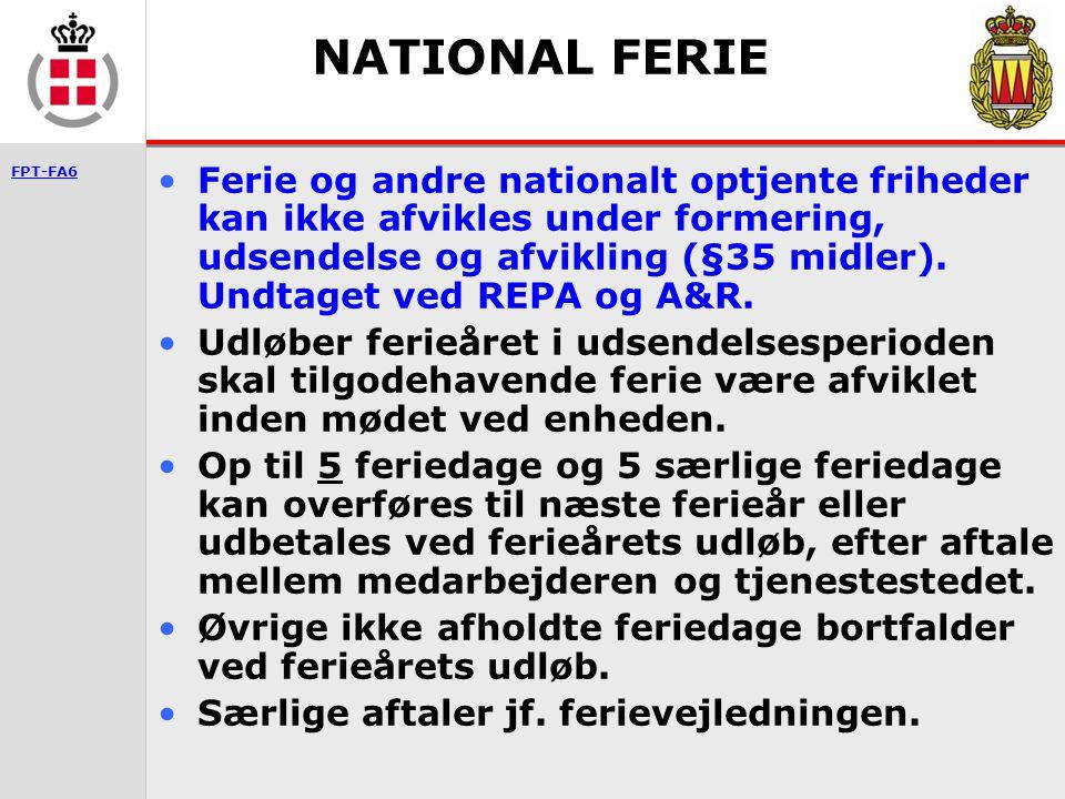 NATIONAL FERIE