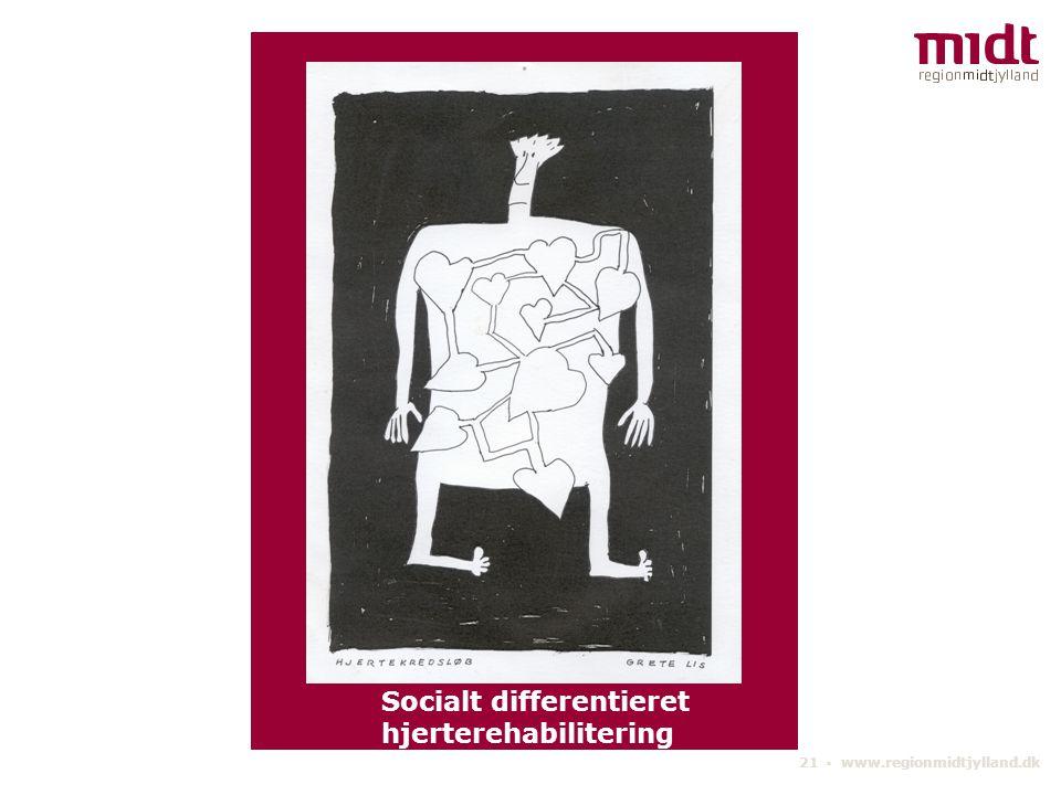 Socialt differentieret hjerterehabilitering