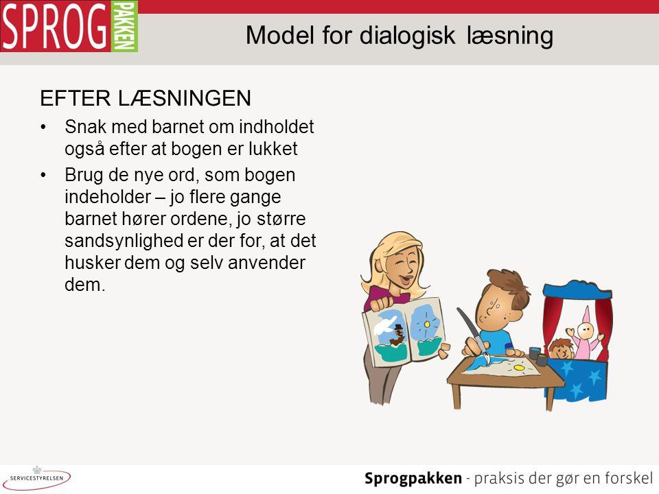 Model for dialogisk læsning
