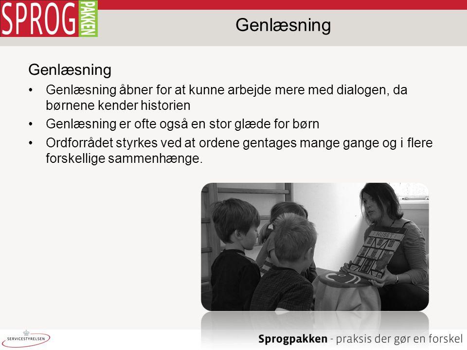 Genlæsning Genlæsning