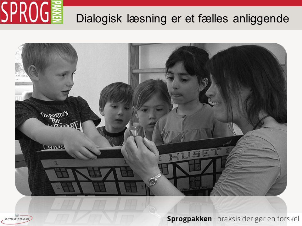 Dialogisk læsning er et fælles anliggende