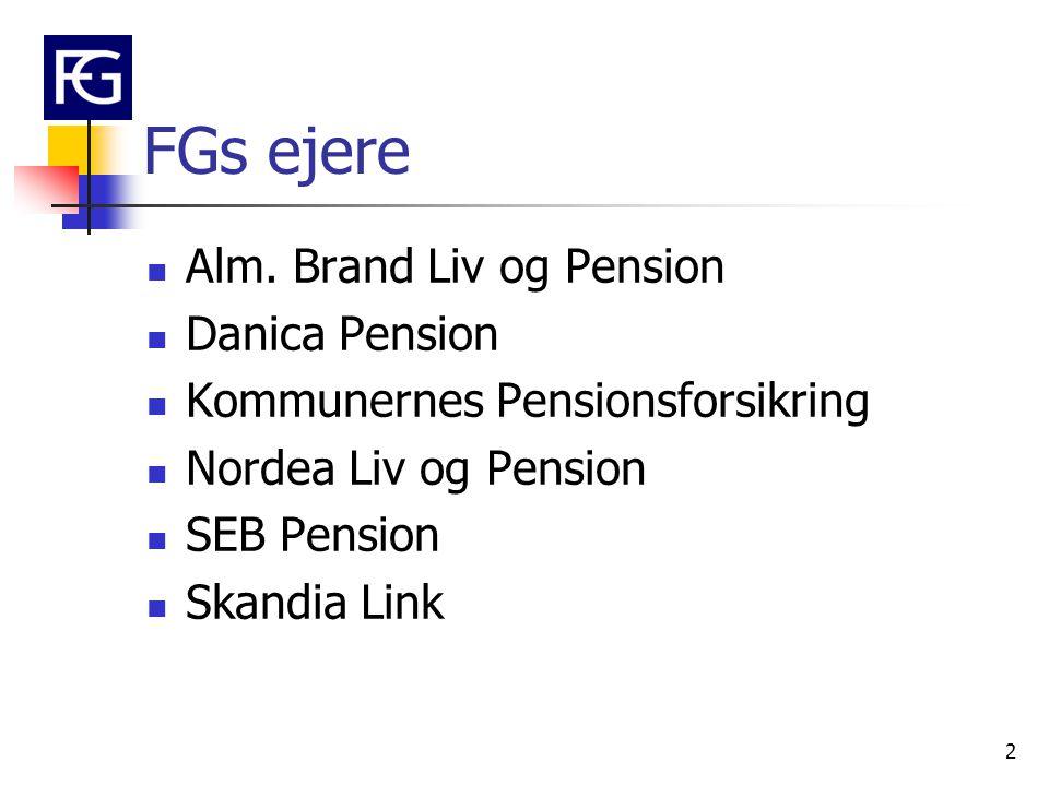 FGs ejere Alm. Brand Liv og Pension Danica Pension