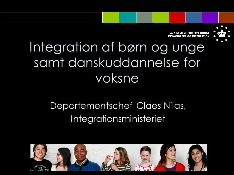 Integration af børn og unge samt danskuddannelse for voksne