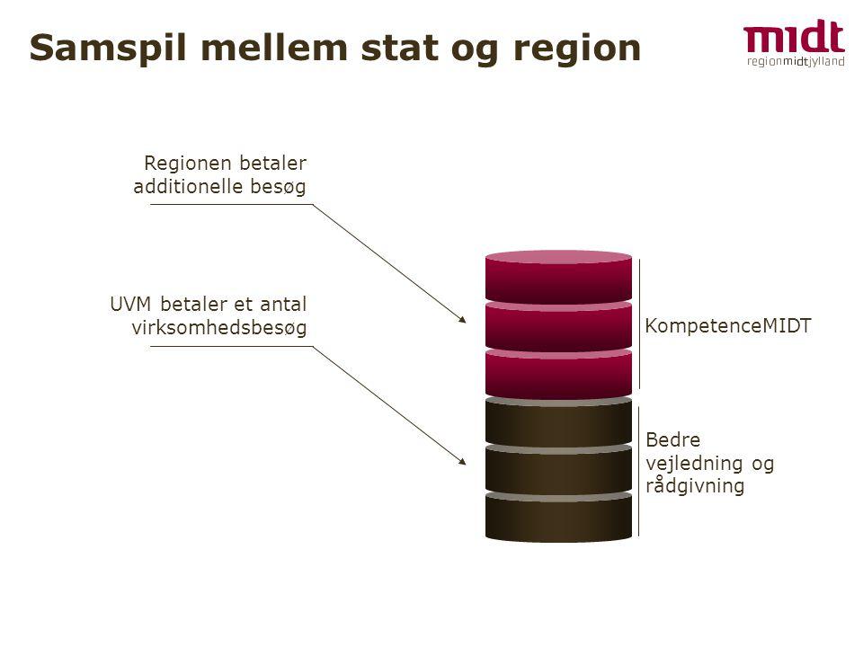 Samspil mellem stat og region