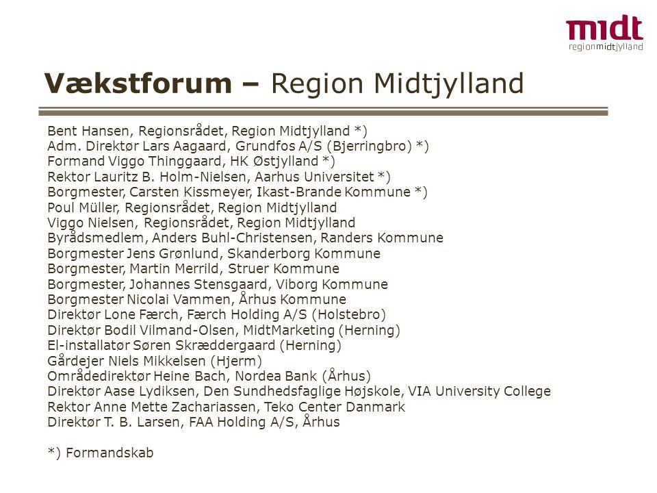 Vækstforum – Region Midtjylland