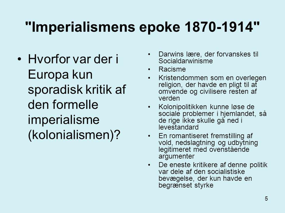 Imperialismens epoke 1870-1914