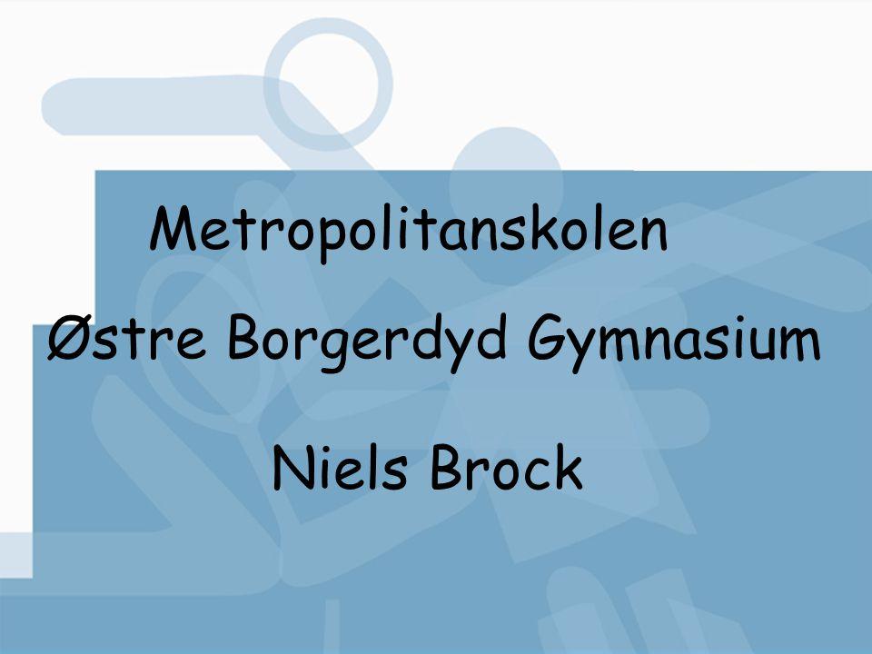 Metropolitanskolen Østre Borgerdyd Gymnasium Niels Brock