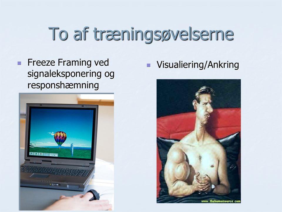 To af træningsøvelserne