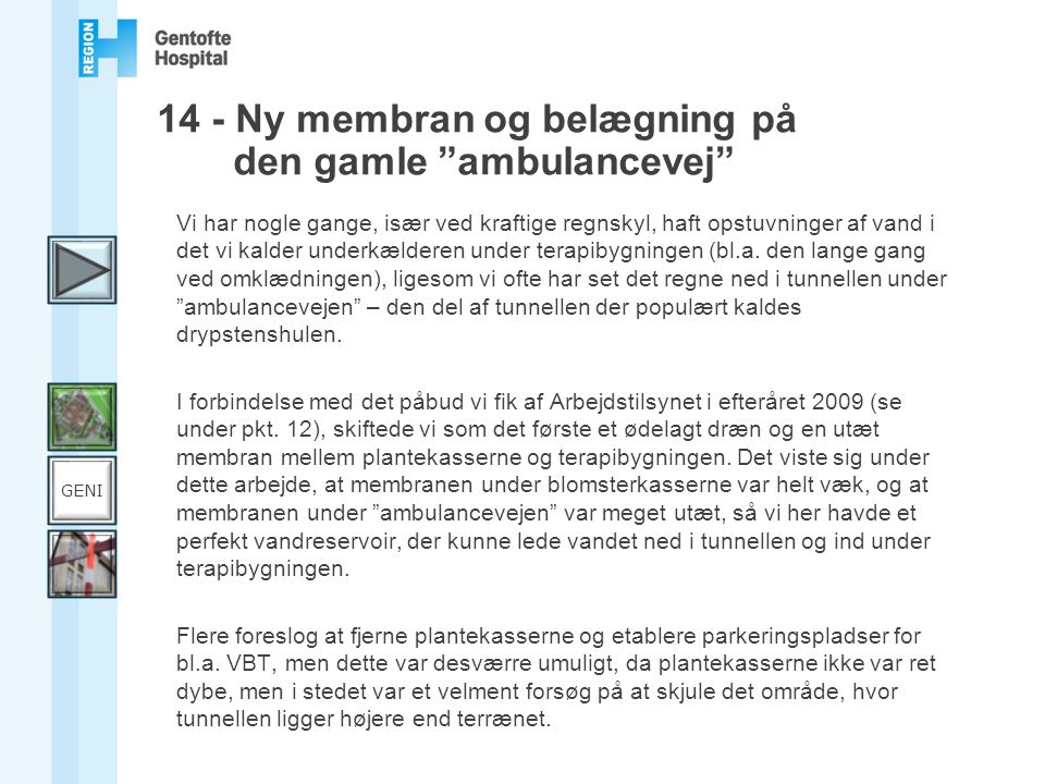 14 - Ny membran og belægning på den gamle ambulancevej