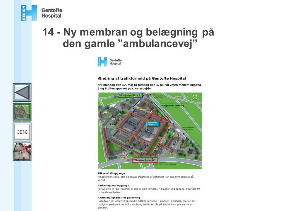 gentofte hospital opgang 8