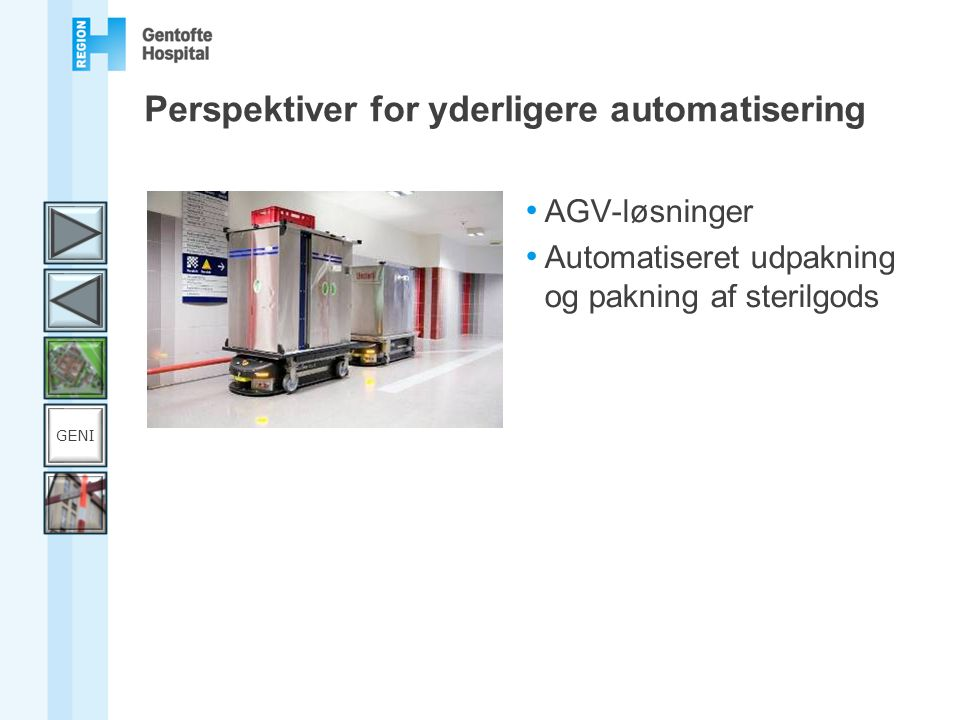 Perspektiver for yderligere automatisering