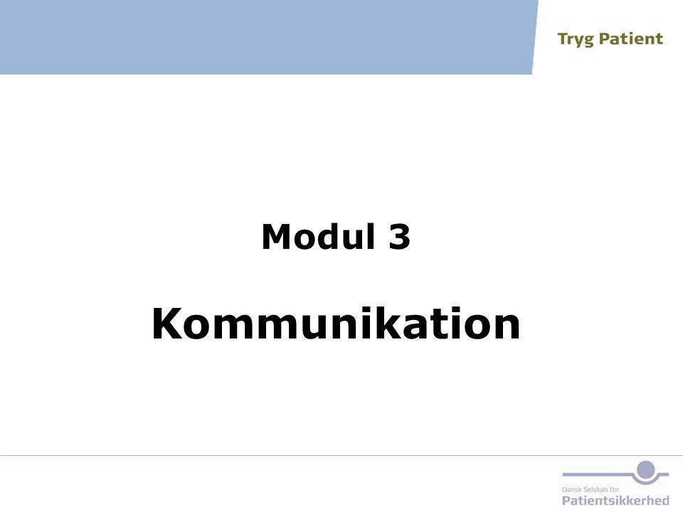 Modul 3 Kommunikation