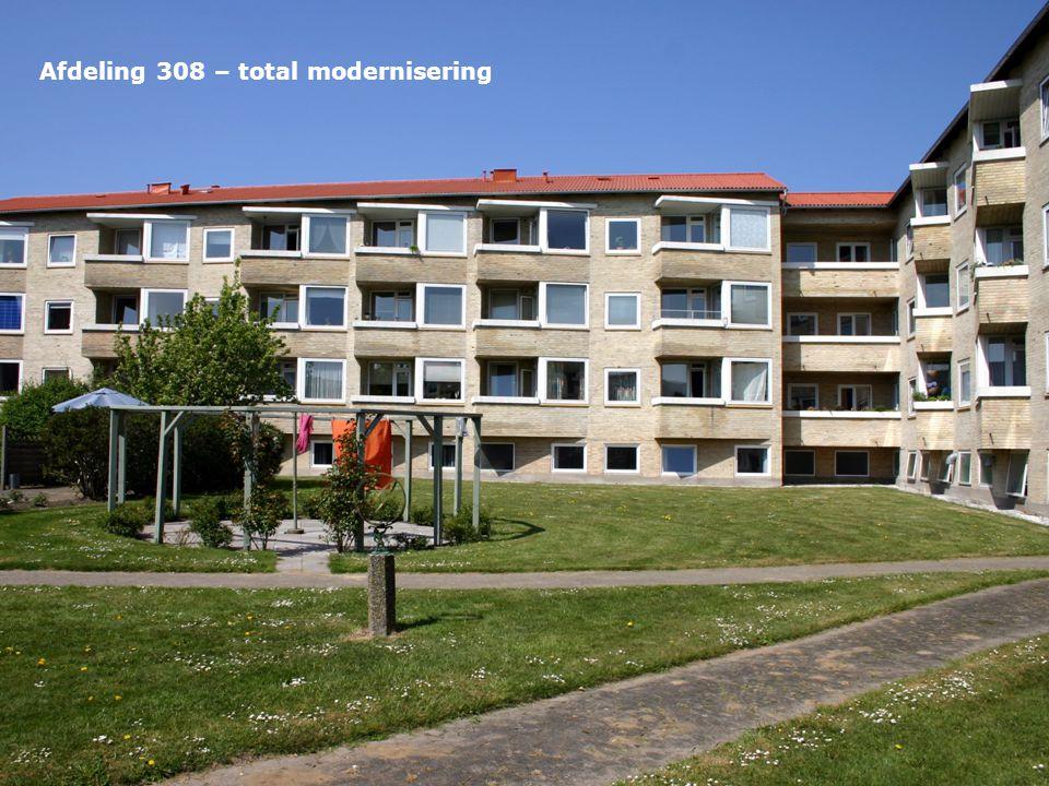 Afdeling 308 – total modernisering