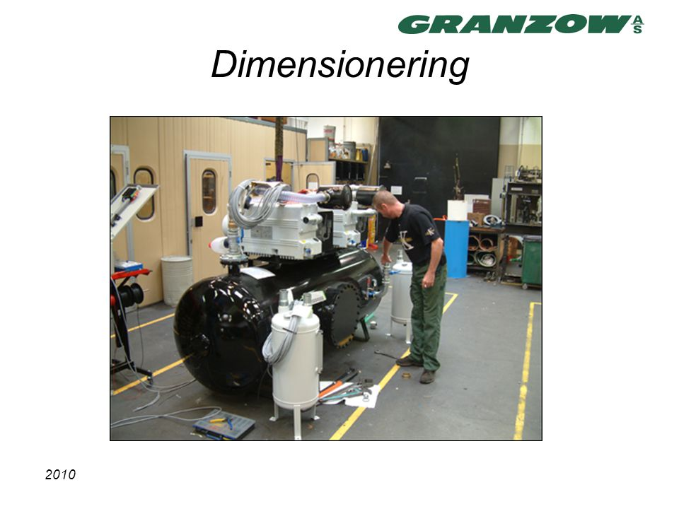 Dimensionering 2010