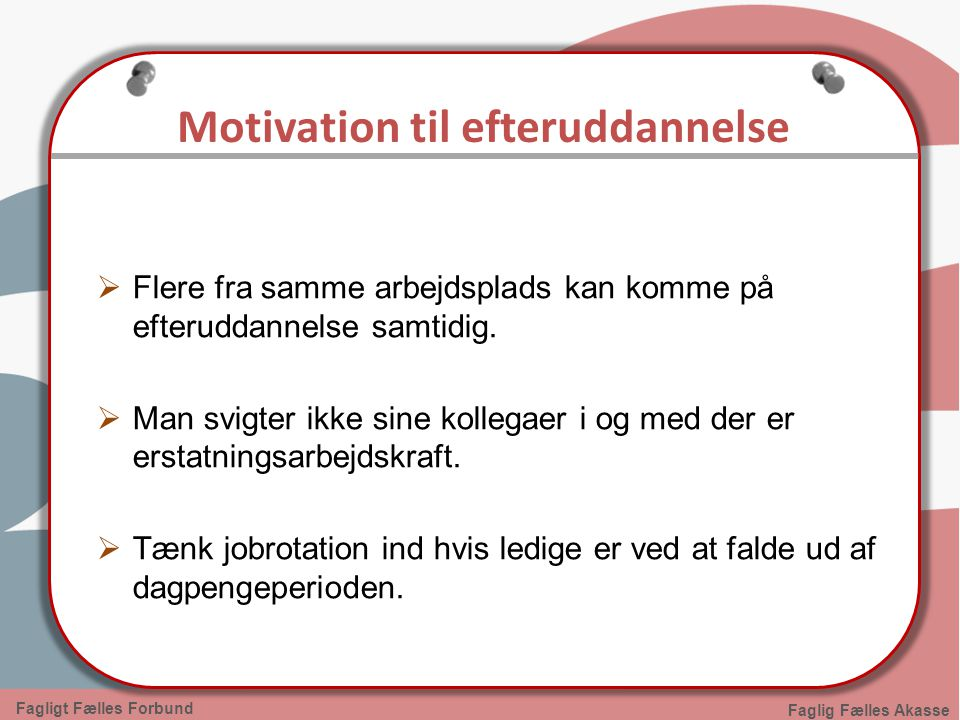 Motivation til efteruddannelse