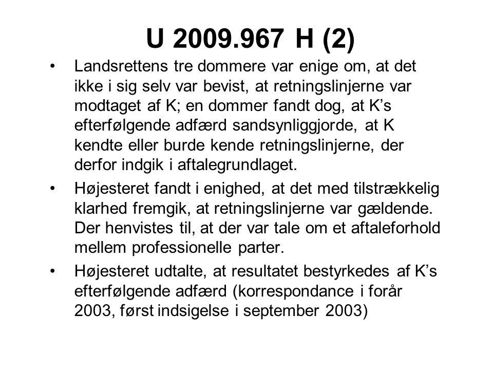 U 2009.967 H (2)