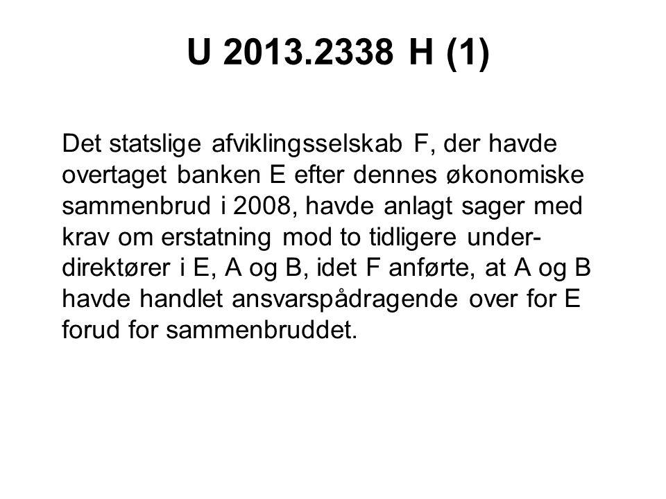 U 2013.2338 H (1)