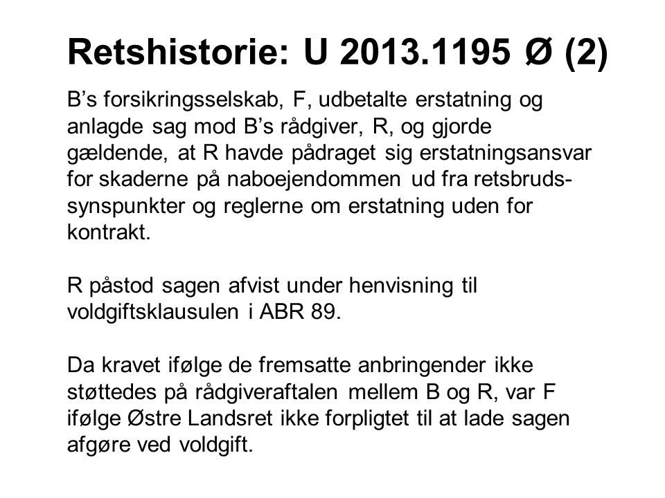 Retshistorie: U 2013.1195 Ø (2)