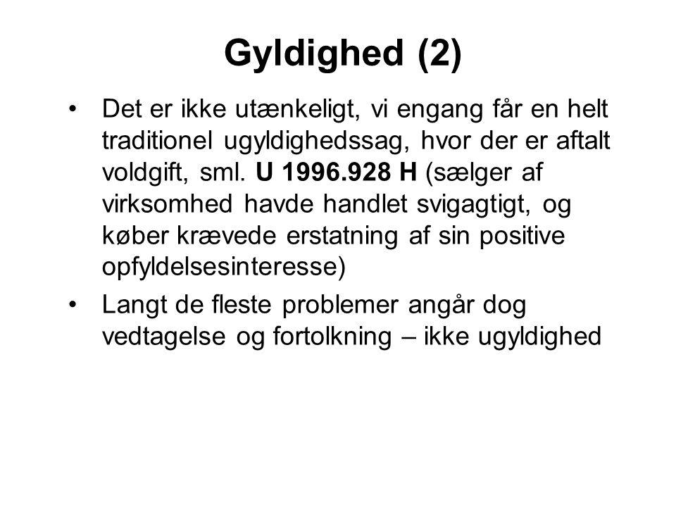 Gyldighed (2)