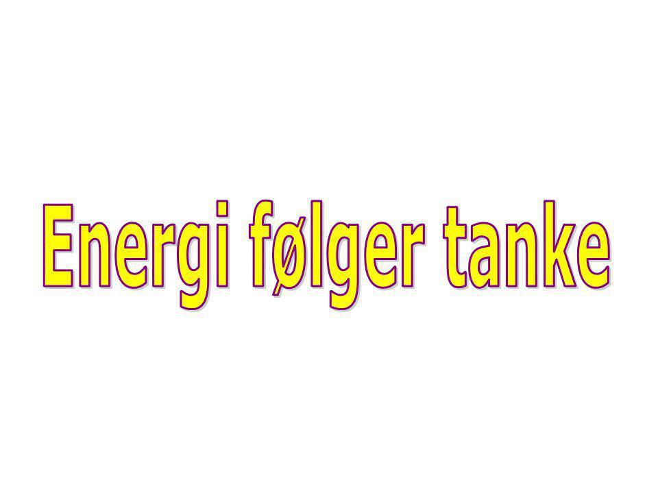 Energi følger tanke Energi følger tanke