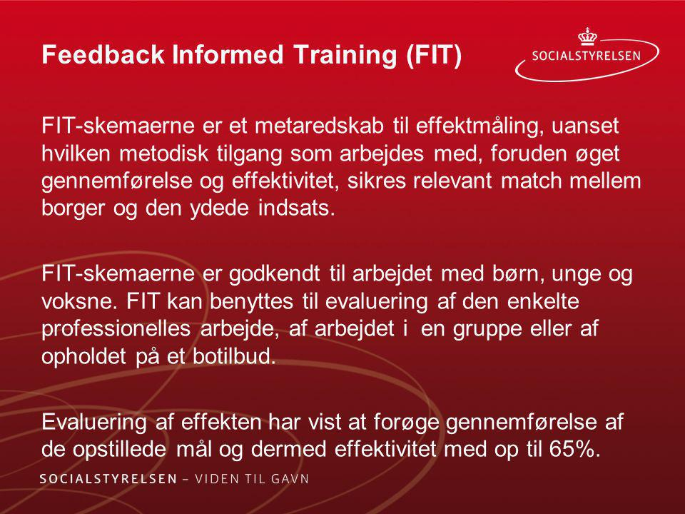 Feedback Informed Training (FIT)