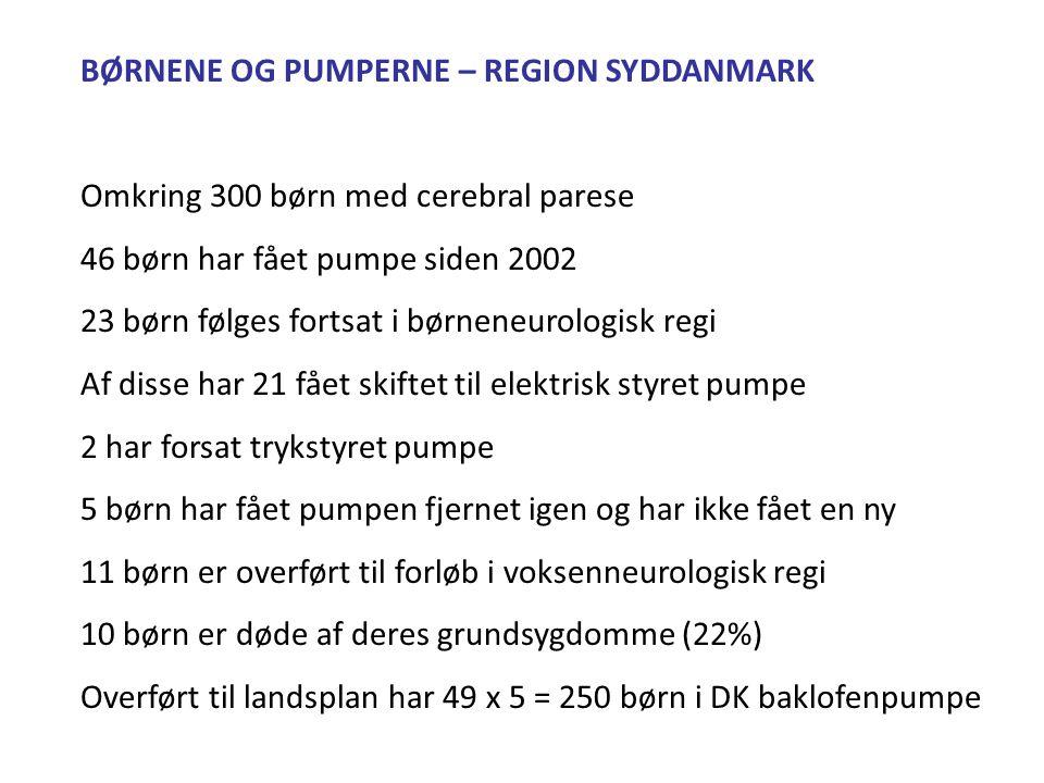 BØRNENE OG PUMPERNE – REGION SYDDANMARK