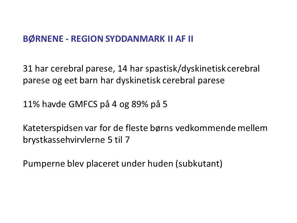 BØRNENE - REGION SYDDANMARK II AF II