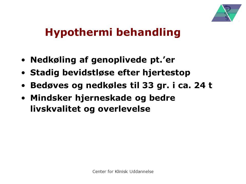 Hypothermi behandling