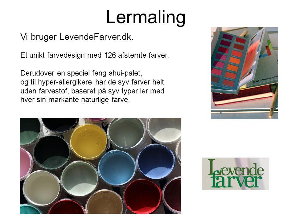Lermaling Vi bruger LevendeFarver.dk.