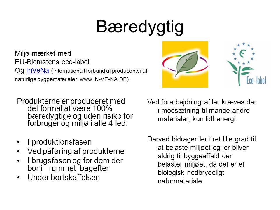 Bæredygtig Miljø-mærket med. EU-Blomstens eco-label.