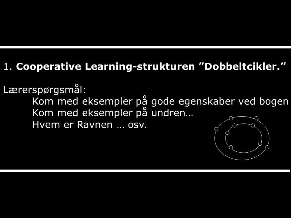 1. Cooperative Learning-strukturen Dobbeltcikler.
