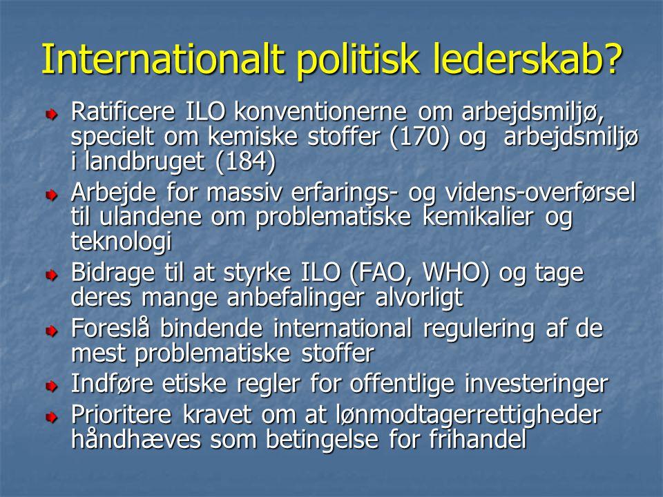 Internationalt politisk lederskab