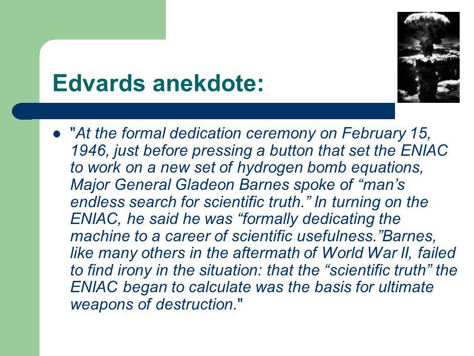 Edvards anekdote: