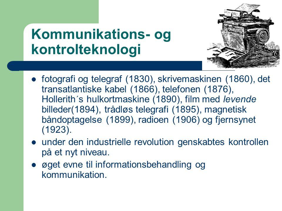 Kommunikations- og kontrolteknologi