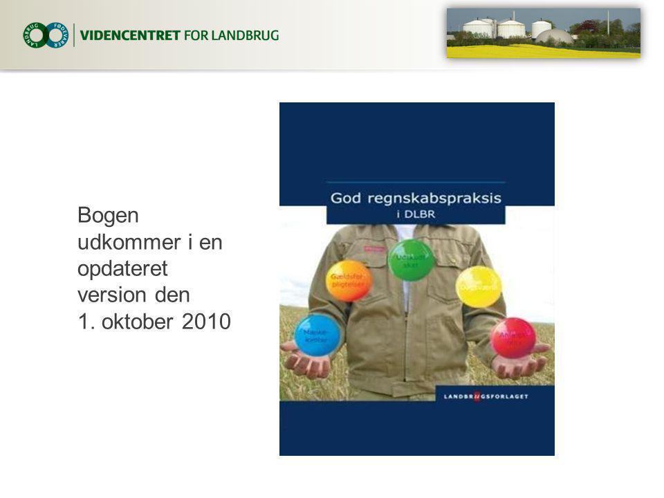 Bogen udkommer i en opdateret version den 1. oktober 2010