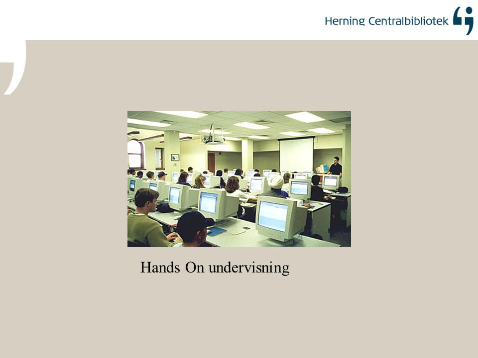 Hands On undervisning