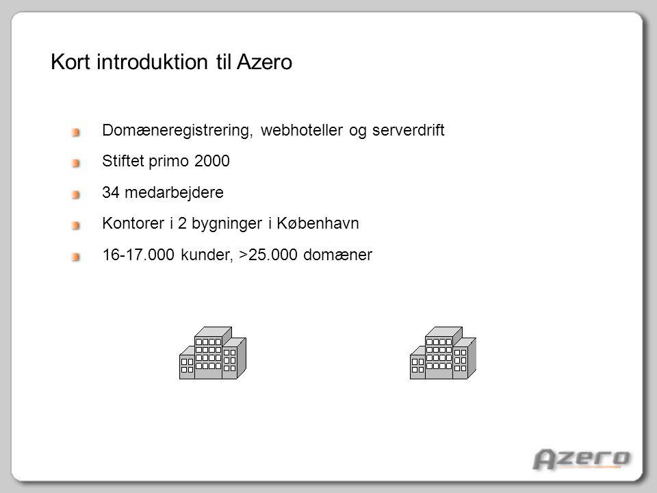 Kort introduktion til Azero