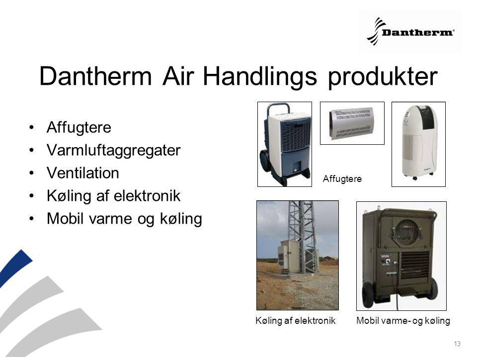 Dantherm Air Handlings produkter