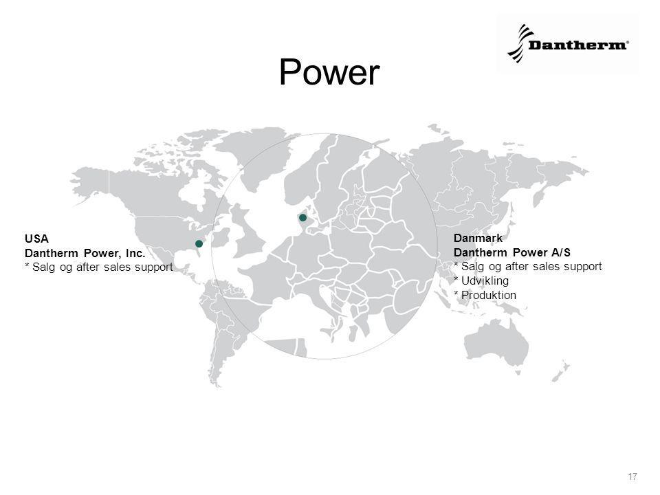 Power USA Danmark Dantherm Power, Inc.