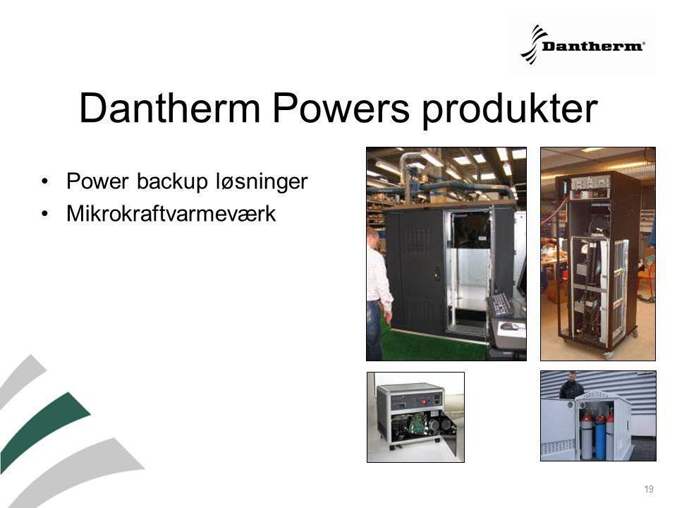 Dantherm Powers produkter