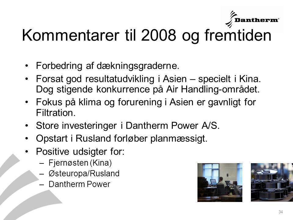 Kommentarer til 2008 og fremtiden