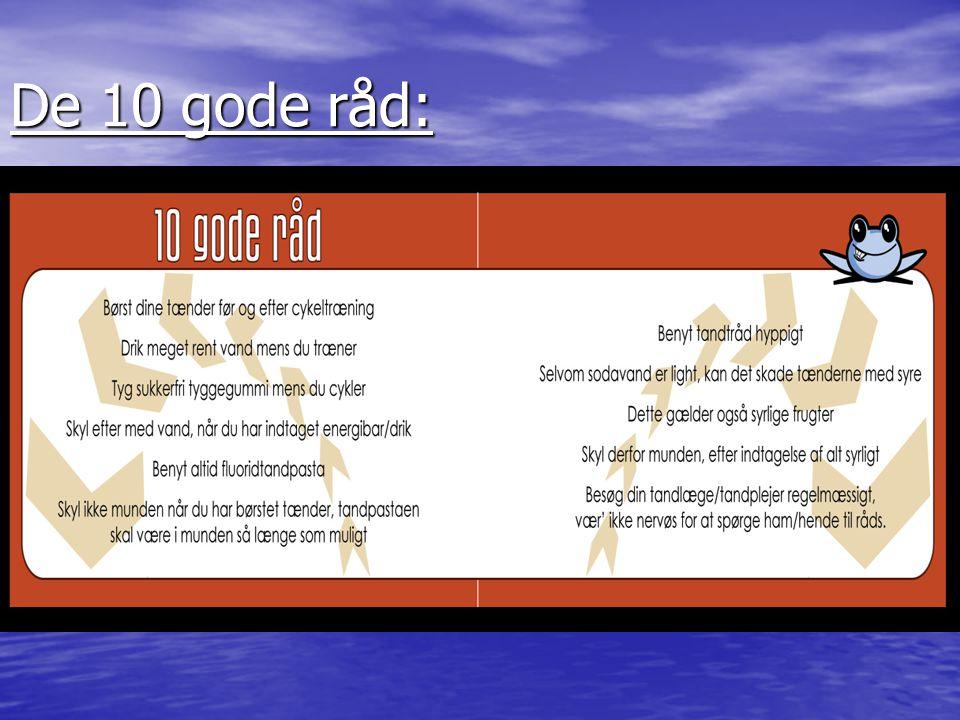 De 10 gode råd: