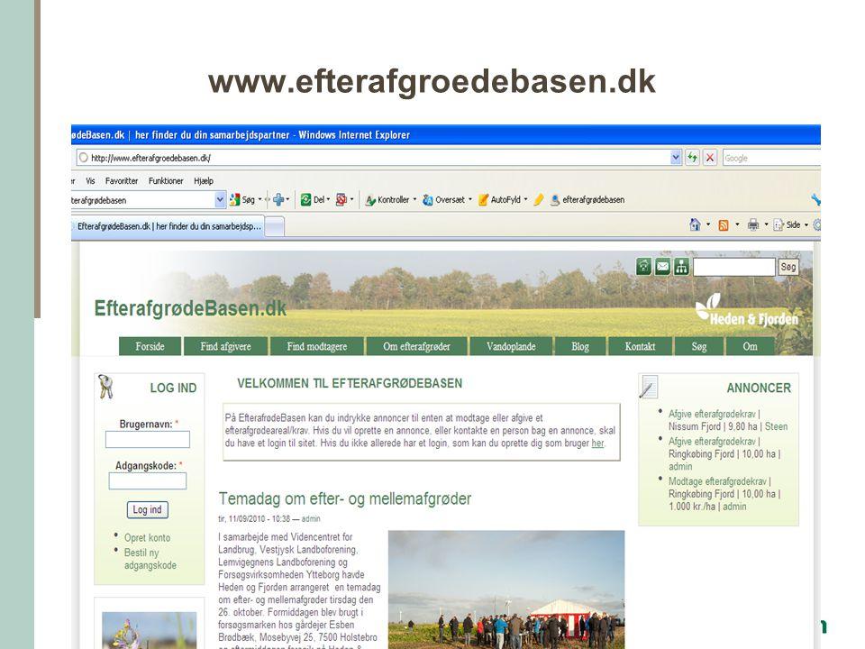 www.efterafgroedebasen.dk